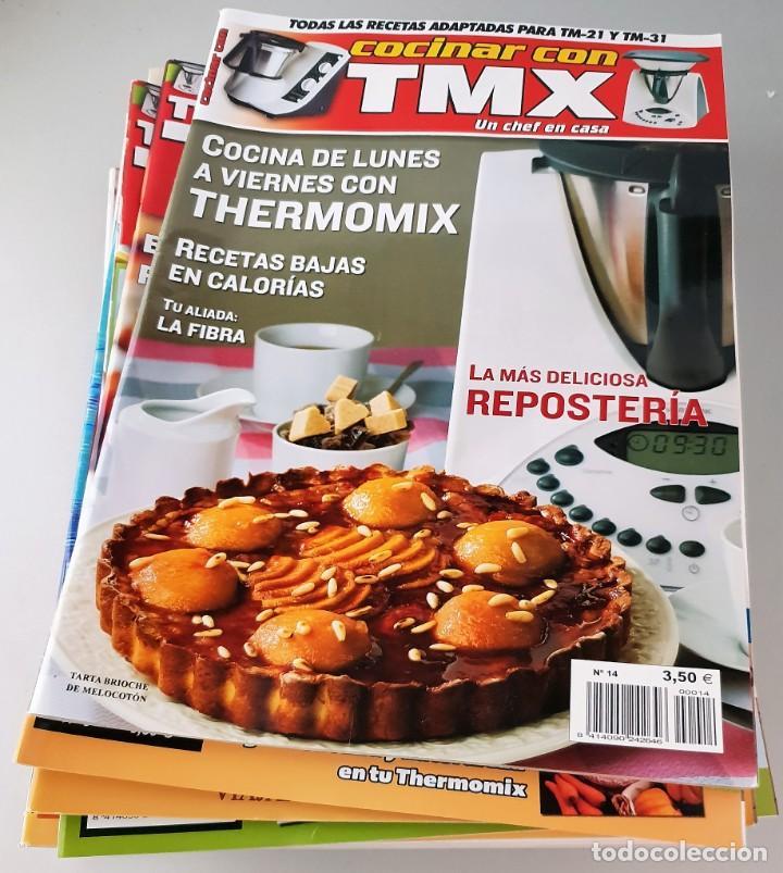 LOTE DE 16 REVISTAS THERMOMIX (Coleccionismo - Revistas y Periódicos Modernos (a partir de 1.940) - Otros)