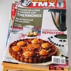 Coleccionismo de Revistas y Periódicos: LOTE DE 16 REVISTAS THERMOMIX . Lote 139364818