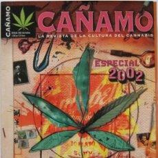Coleccionismo de Revistas y Periódicos: CAÑAMO ESPECIAL PSICONAUTAS ILUSTRES, 2002. Lote 139406258