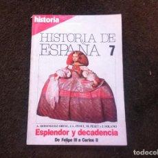 Coleccionismo de Revistas y Periódicos: REVISTA. HISTORIA 16 (HISTORIA DE ESPAÑA 7. ESPLENDOR Y DECADENCIA, DE FELIPE III A CARLOS II). Lote 139439566