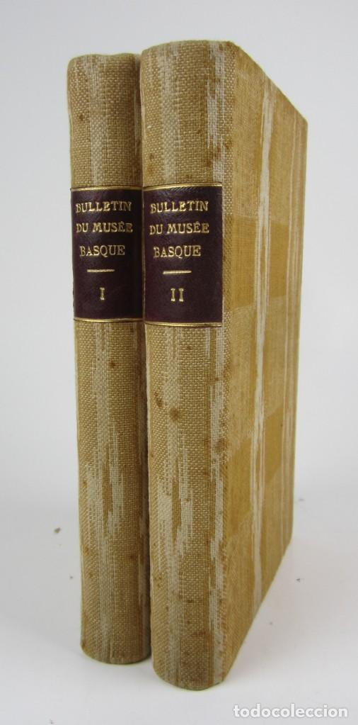 BULLETIN DU MUSÉE BASQUE, VARIOS NÚMEROS, DE 1925 A 1930, BAYONNE. 17X24,5CM (Coleccionismo - Revistas y Periódicos Antiguos (hasta 1.939))
