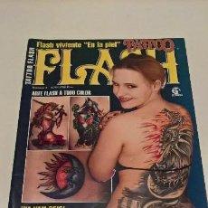 Coleccionismo de Revistas y Periódicos: REVISTA TATTOO FLASH. NUM 4. TATUAJES. AÑO 2001. TIENE FALTAS.. Lote 139551110