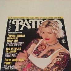 Coleccionismo de Revistas y Periódicos: REVISTA TATTOO. NUM 5. AÑO 2002. TATUAJE. ALGUNA FALTA.. Lote 139553342