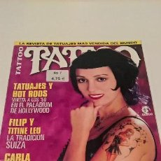Coleccionismo de Revistas y Periódicos: REVISTA TATTOO NUM 7. MAYO 2002. EDICION ESPAÑOLA. TATUAJES. TIENE FALTAS.. Lote 139555434