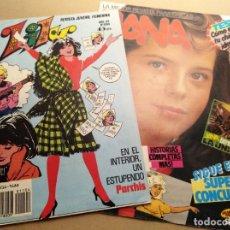 Coleccionismo de Revistas y Periódicos: REVISTA Y COMIC JUVENIL LYLY Y JANA ENTREVISTA LA UNION VINTAGE. Lote 139664314