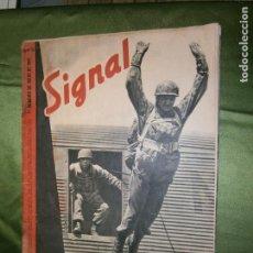 Coleccionismo de Revistas y Periódicos: REVISTA SIGNAL. II GUERRA MUNDIAL. PRIMER NUMERO DE JULIO 1941. SP. Nº 13. EDICION ESPAÑOLA. Lote 139895110