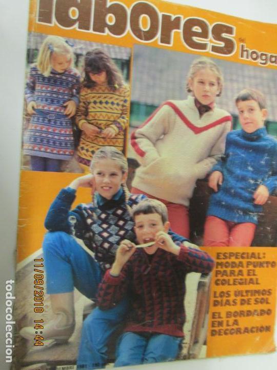 LABORES DEL HOGAR REVISTA Nº 280 SEPTIEMBRE 1981 (Coleccionismo - Revistas y Periódicos Modernos (a partir de 1.940) - Otros)