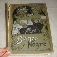 Coleccionismo de Revistas y Periódicos: REVISTA BLANCO Y NEGRO. AÑO 1903. ENCUADERNADA.. Lote 139898966