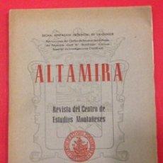 Coleccionismo de Revistas y Periódicos: ALTAMIRA REVISTA DEL CENTRO DE ESTUDIOS MONTAÑESES, Nº 2 Y 3 1951. Lote 140077298