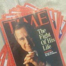 Coleccionismo de Revistas y Periódicos: REVISTA TIME (EN INGLES). LOTE DE 14 NUMEROS, DE LOS AÑOS 1992 Y 1993.. Lote 140099498