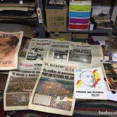 Coleccionismo de Revistas y Periódicos: PERIÓDICOS EL ALCAZAR. Lote 140172354