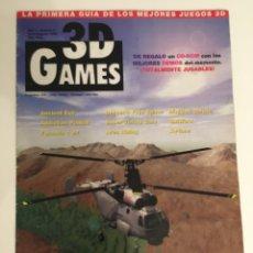 Coleccionismo de Revistas y Periódicos: REVISTA 3D GAMES. AÑO 1 NÚMERO 2 JULIO/AGOSTO 1998. Lote 140187816