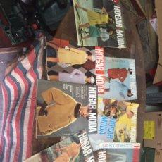 Coleccionismo de Revistas y Periódicos: ANTIGUAS REVISTAS HOGAR Y MODA. Lote 140225489