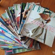 Coleccionismo de Revistas y Periódicos: EXTRAORDINARIO LOTE DE 24 REVISTAS TELVA. VER DESCRIPCIÓN Y FOTOGRAFÍAS.. Lote 140291002