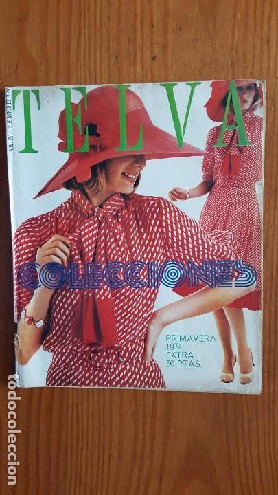 Coleccionismo de Revistas y Periódicos: EXTRAORDINARIO LOTE DE 24 REVISTAS TELVA. VER DESCRIPCIÓN Y FOTOGRAFÍAS. - Foto 5 - 140291002