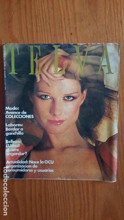 Coleccionismo de Revistas y Periódicos: EXTRAORDINARIO LOTE DE 24 REVISTAS TELVA. VER DESCRIPCIÓN Y FOTOGRAFÍAS. - Foto 7 - 140291002