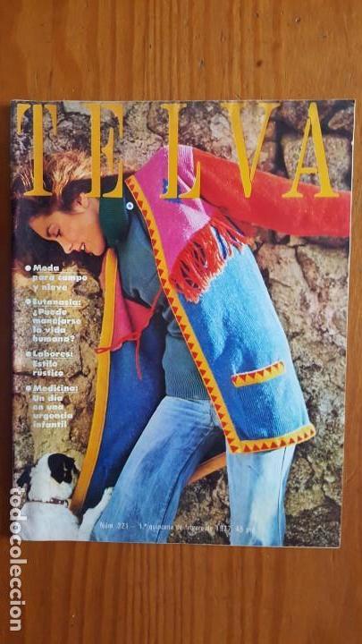 Coleccionismo de Revistas y Periódicos: EXTRAORDINARIO LOTE DE 24 REVISTAS TELVA. VER DESCRIPCIÓN Y FOTOGRAFÍAS. - Foto 9 - 140291002