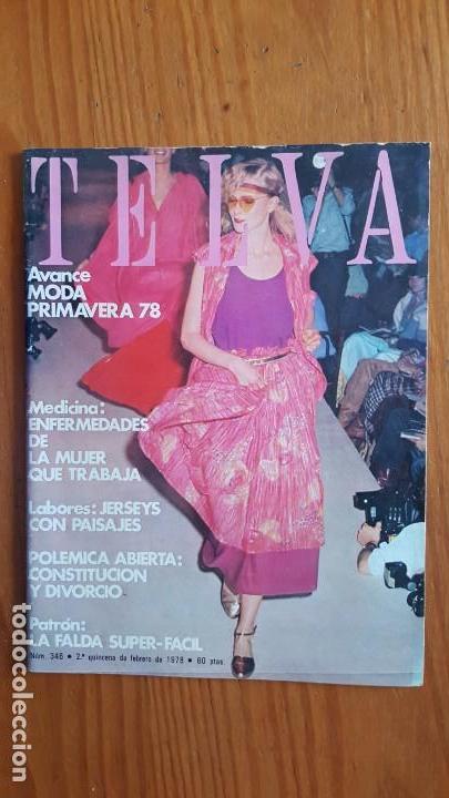 Coleccionismo de Revistas y Periódicos: EXTRAORDINARIO LOTE DE 24 REVISTAS TELVA. VER DESCRIPCIÓN Y FOTOGRAFÍAS. - Foto 11 - 140291002