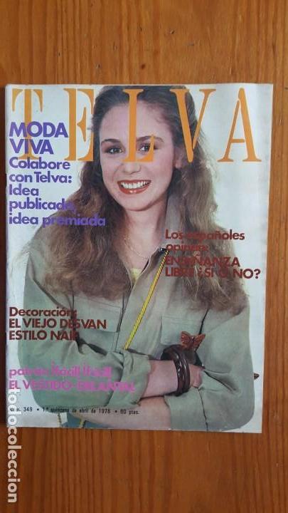Coleccionismo de Revistas y Periódicos: EXTRAORDINARIO LOTE DE 24 REVISTAS TELVA. VER DESCRIPCIÓN Y FOTOGRAFÍAS. - Foto 12 - 140291002