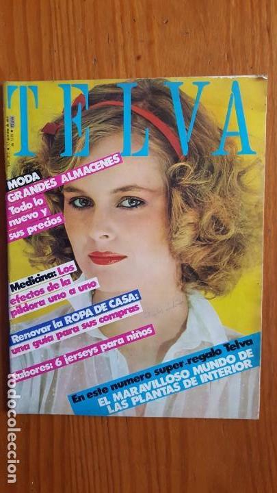 Coleccionismo de Revistas y Periódicos: EXTRAORDINARIO LOTE DE 24 REVISTAS TELVA. VER DESCRIPCIÓN Y FOTOGRAFÍAS. - Foto 13 - 140291002
