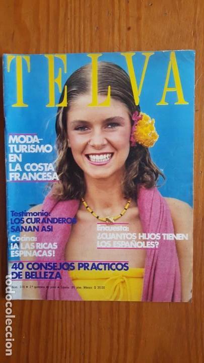 Coleccionismo de Revistas y Periódicos: EXTRAORDINARIO LOTE DE 24 REVISTAS TELVA. VER DESCRIPCIÓN Y FOTOGRAFÍAS. - Foto 14 - 140291002