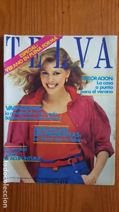 Coleccionismo de Revistas y Periódicos: EXTRAORDINARIO LOTE DE 24 REVISTAS TELVA. VER DESCRIPCIÓN Y FOTOGRAFÍAS. - Foto 15 - 140291002