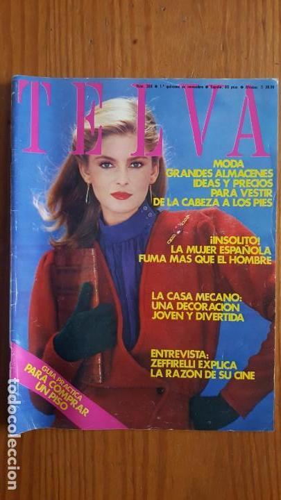 Coleccionismo de Revistas y Periódicos: EXTRAORDINARIO LOTE DE 24 REVISTAS TELVA. VER DESCRIPCIÓN Y FOTOGRAFÍAS. - Foto 18 - 140291002