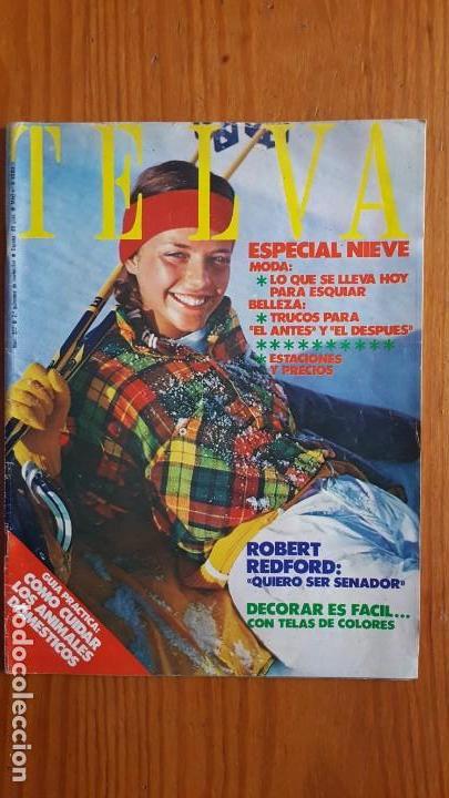 Coleccionismo de Revistas y Periódicos: EXTRAORDINARIO LOTE DE 24 REVISTAS TELVA. VER DESCRIPCIÓN Y FOTOGRAFÍAS. - Foto 19 - 140291002