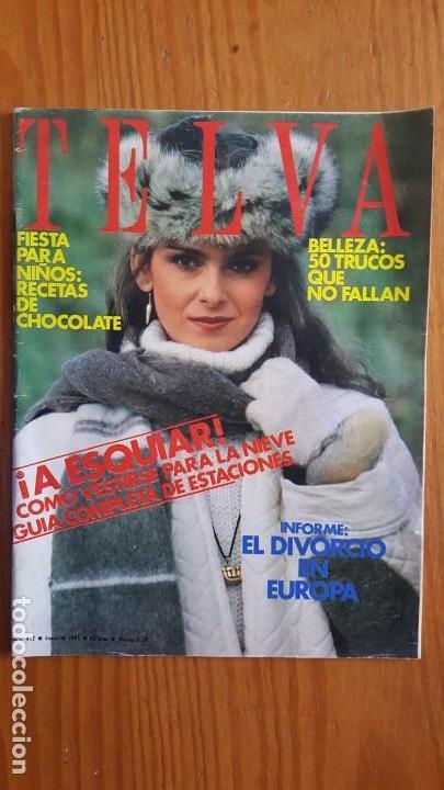 Coleccionismo de Revistas y Periódicos: EXTRAORDINARIO LOTE DE 24 REVISTAS TELVA. VER DESCRIPCIÓN Y FOTOGRAFÍAS. - Foto 21 - 140291002