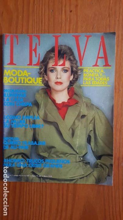 Coleccionismo de Revistas y Periódicos: EXTRAORDINARIO LOTE DE 24 REVISTAS TELVA. VER DESCRIPCIÓN Y FOTOGRAFÍAS. - Foto 23 - 140291002