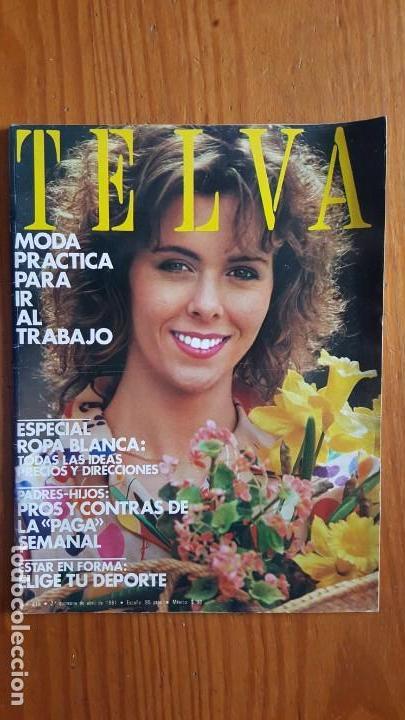 Coleccionismo de Revistas y Periódicos: EXTRAORDINARIO LOTE DE 24 REVISTAS TELVA. VER DESCRIPCIÓN Y FOTOGRAFÍAS. - Foto 24 - 140291002