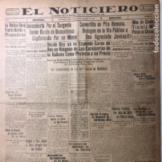 Coleccionismo de Revistas y Periódicos: CUBA. PERIÓDICO EL NOTICIERO. INDEPENDENCIA. IMPARCIALIDAD. AÑO II. 20 DE FEBRERO 1933 NÚMERO 51. Lote 140510890