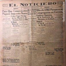 Coleccionismo de Revistas y Periódicos: CUBA. PERIÓDICO EL NOTICIERO. INDEPENDENCIA. IMPARCIALIDAD. AÑO II. 25 DE FEBRERO 1933 NÚMERO 56. Lote 140511462