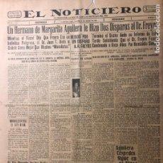 Coleccionismo de Revistas y Periódicos: CUBA. PERIÓDICO EL NOTICIERO. INDEPENDENCIA. IMPARCIALIDAD. AÑO II. 14 DE MARZO 1933 NÚMERO 73. Lote 140514438