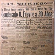 Coleccionismo de Revistas y Periódicos: CUBA. PERIÓDICO EL NOTICIERO. INDEPENDENCIA. IMPARCIALIDAD. AÑO II. 16 DE MARZO 1933 NÚMERO 75. Lote 140514546
