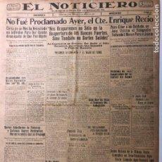 Coleccionismo de Revistas y Periódicos: CUBA. PERIÓDICO EL NOTICIERO. INDEPENDENCIA. IMPARCIALIDAD. AÑO II. 19 DE MARZO 1933 NÚMERO 78. Lote 140514626