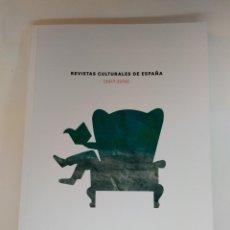 Coleccionismo de Revistas y Periódicos: REVISTAS CULTURALES DE ESPAÑA (2017-2018). EDITA ARCE. . Lote 140532518