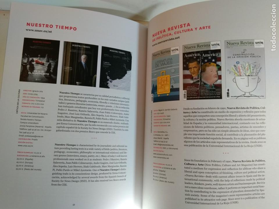 Coleccionismo de Revistas y Periódicos: REVISTAS CULTURALES DE ESPAÑA (2017-2018). Edita Arce. - Foto 2 - 140532518