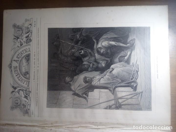 Collection Magazines and Newspapers: ILUSTRACION ARTISTICA Y ALBUM DE SALON. 1882 - Foto 5 - 140538650