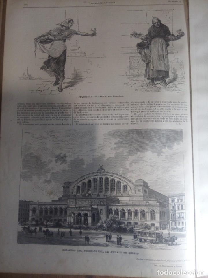 Collection Magazines and Newspapers: ILUSTRACION ARTISTICA Y ALBUM DE SALON. 1882 - Foto 6 - 140538650