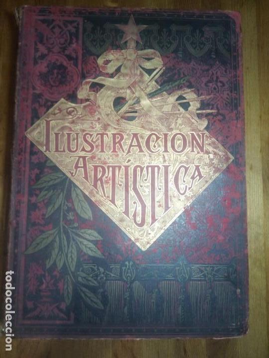 ILUSTRACION ARTISTICA Y ALBUM DE SALON. 1882 (Collectable Paper - Antique Magazines and Newspapers (until 1939))