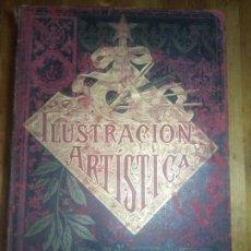 Coleccionismo de Revistas y Periódicos: ILUSTRACION ARTISTICA Y ALBUM DE SALON. 1882. Lote 140538650