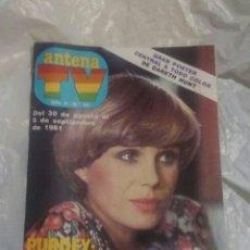 Coleccionismo de Revistas y Periódicos: REVISTA ANTENA TV SEPTIEMBRE 1981. Lote 140573589