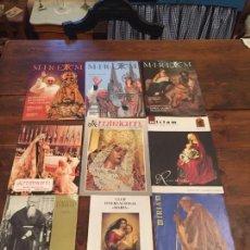 Coleccionismo de Revistas y Periódicos: ANTIGUAS 9 REVISTA / REVISTAS MIRIAM DE LA VIRGEN ESPERANZA MACARENA SEVILLA AÑOS 70-80 . Lote 140584870