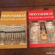 Coleccionismo de Revistas y Periódicos: ANTIGUAS 2 REVISTA / REVISTAS BUTLLETÍ DEL SANTUARI DE MONTSERRAT AÑOS 90-2000 . Lote 140585482