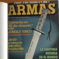 Coleccionismo de Revistas y Periódicos: REVISTA ARMAS ENCUADERNADA - 12 NUMEROS EN UN TOMO AÑO 1985. Lote 140598398