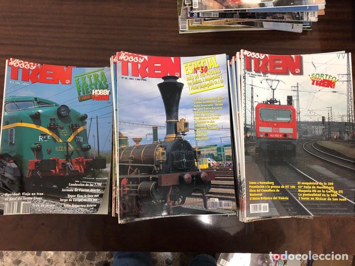 LOTE DE 110 REVISTAS HOBBY TREN (Coleccionismo - Revistas y Periódicos Modernos (a partir de 1.940) - Otros)