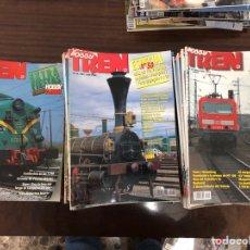 Coleccionismo de Revistas y Periódicos: LOTE DE 110 REVISTAS HOBBY TREN. Lote 140927944