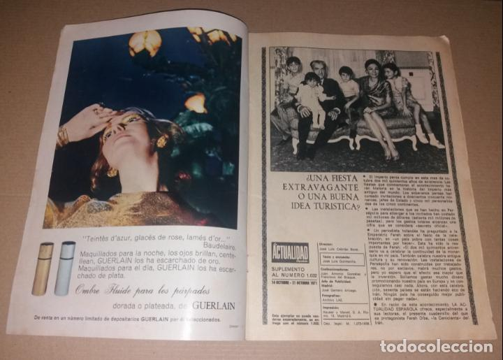 Coleccionismo de Revistas y Periódicos: Revista del corazón. Biografía Farah, La actualidad española - Foto 2 - 140617414