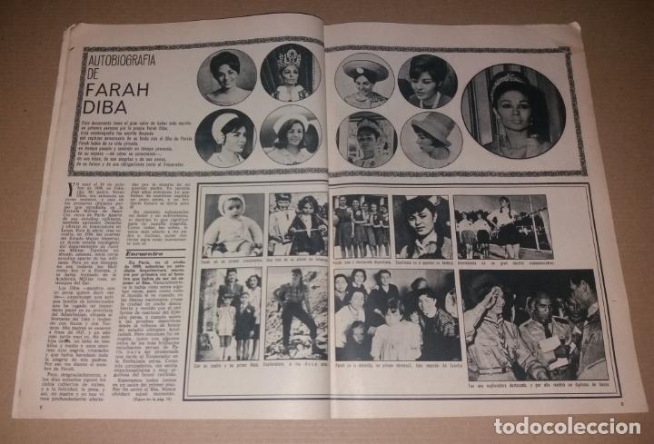 Coleccionismo de Revistas y Periódicos: Revista del corazón. Biografía Farah, La actualidad española - Foto 3 - 140617414